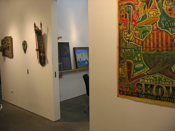 "Daniel  Peacock -  <strong>Proof Denies Faith</strong> (<strong style = 'color:#635a27'></strong>)<bR /> ""Proof Denies Faith"" exhibit featuring the work of Daniel Peacock and AJ Fosik"