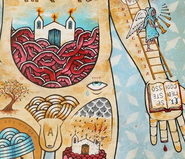 Stephan  Doitschinoff -  <strong>O Homem Apropriado (DETAIL)</strong> (<strong style = 'color:#635a27'></strong>)<bR />