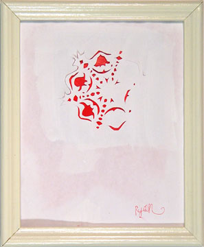 Ryan  Wallace -  <strong>Concierto Number</strong> (2004<strong style = 'color:#635a27'></strong>)<bR /> Mixed Media on Paper.