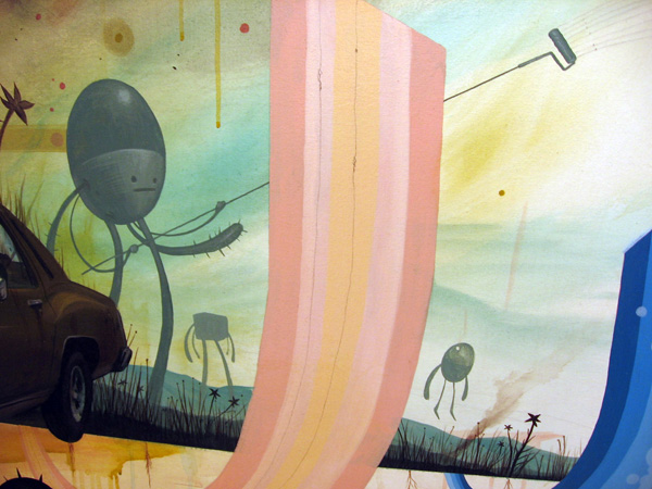 Jeff  Soto -  <strong>California Ice Age (detail)</strong> (2006<strong style = 'color:#635a27'></strong>)<bR />