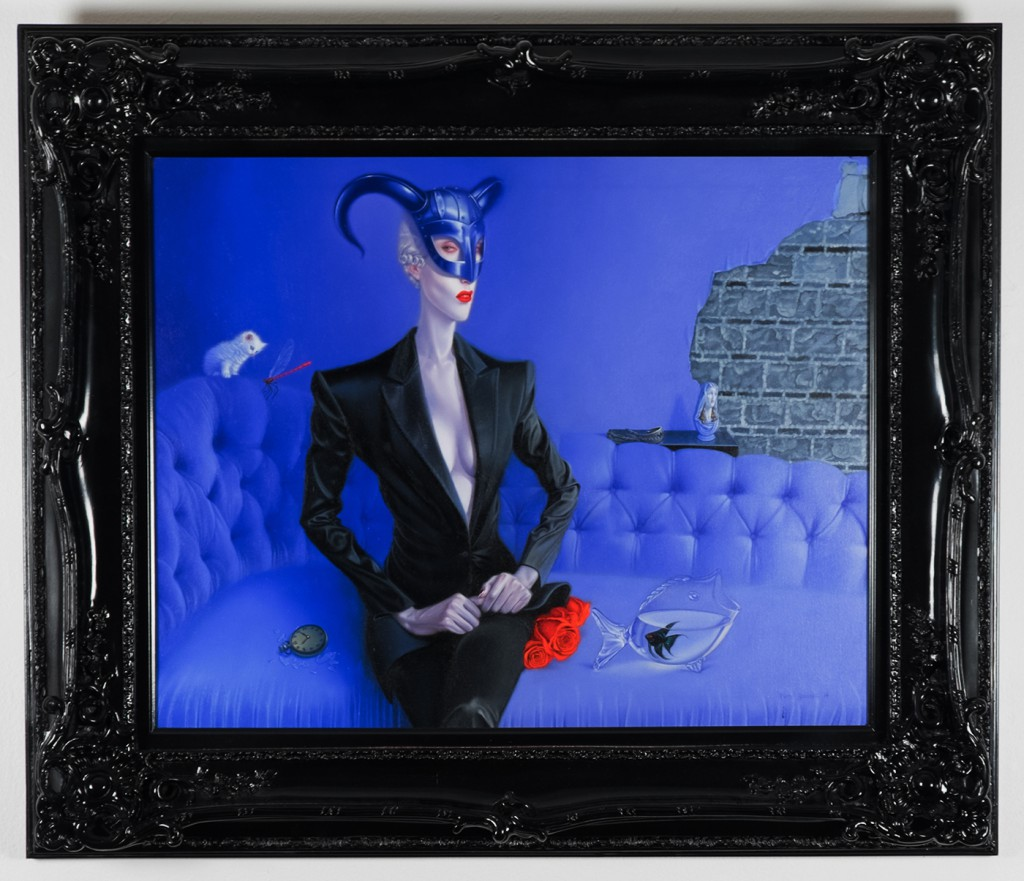 Troy  Brooks -  <strong>Parabolic</strong> (<strong style = 'color:#635a27'></strong>)<bR /> oil on canvas,   24 x 30 inches  (60.96 x 76.2 cm)