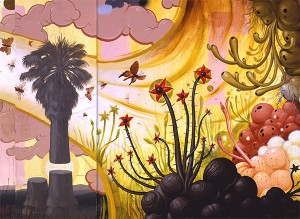 Jeff  Soto -  <strong>Battle for Twin Palms (detail)</strong> (2005<strong style = 'color:#635a27'></strong>)<bR />