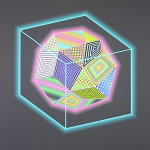 Jaime Brett Treadwell -  <strong>George</strong> (2016<strong style = 'color:#635a27'></strong>)<bR /> oil on panel, 44 x 44 inches, (111.8 x 111.8 cm)