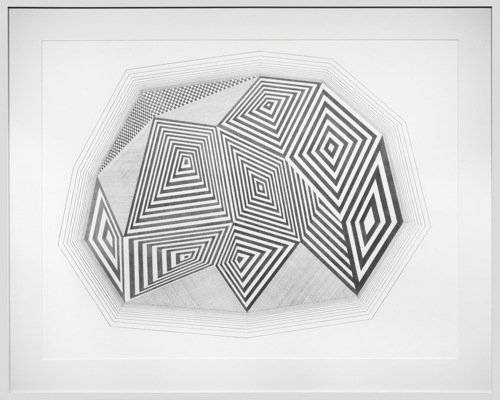 Jaime Brett Treadwell -  <strong>Homepage</strong> (2016<strong style = 'color:#635a27'></strong>)<bR /> graphite on paper, 38 x 50 inches, (96.5 x 127 cm),  framed:  45 x 56 inches, (114.3 x 142.2 cm)