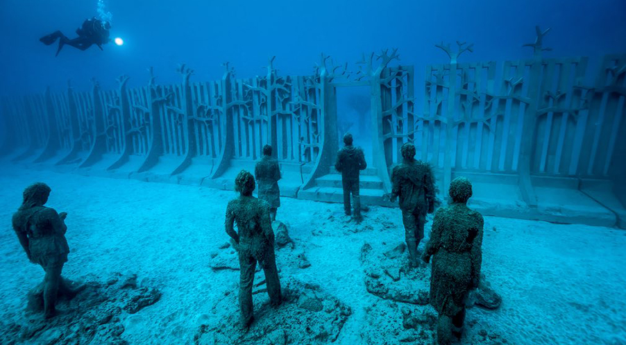 Jason-deCaires-Taylor-Jonathan-LeVine-Gallery