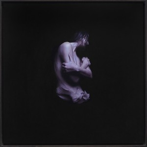 Jeremy Geddes -  <strong>Fury 8</strong> (2016<strong style = 'color:#635a27'></strong>)<bR /> oil on board, 17.71 x 17.71 inches, (44.98 x 44.98 cm). Framed: 18.5 x 18.5 inches, (46.99 x 46.99 cm) $12,000
