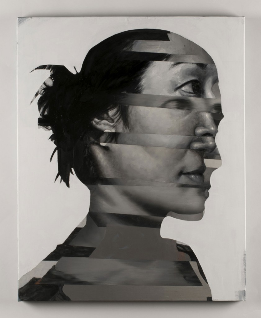 Holly Mathews -  <strong>Dahae II</strong> (2017<strong style = 'color:#635a27'></strong>)<bR /> oil on canvas, 30 x 24 inches, $3,500