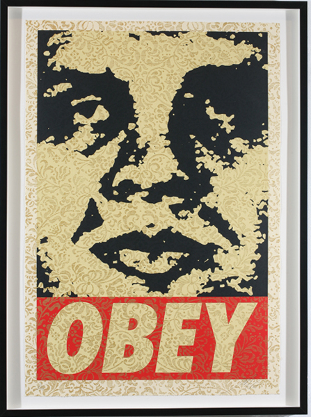 Shepard Fairey -  <strong>OBEY '94</strong> (2007<strong style = 'color:#635a27'></strong>)<bR /> screenprint S/N Edition of 10 29 x 42 inches