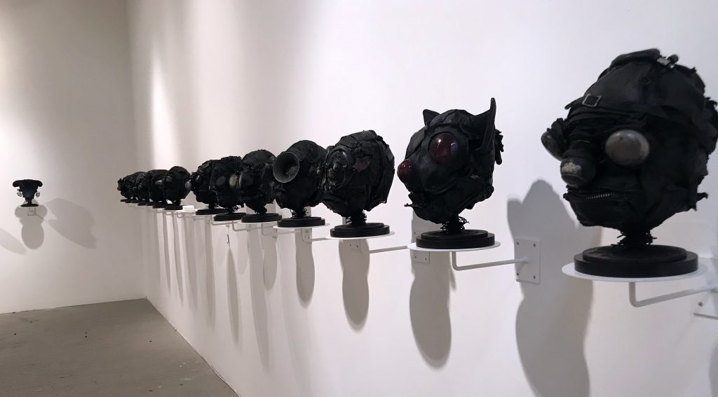 Ronald Gonzalez -  <strong>Installation View</strong> (2018<strong style = 'color:#635a27'></strong>)<bR />