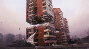 Jeremy  Geddes -  <strong>Fortress</strong> (2015<strong style = 'color:#635a27'></strong>)<bR /> giclee on Hahnemuhle Matte Fine Art Photo Rag, 100% Cotton  24.02 x 38.58 inches  edition of 60  signed and numbered by the artist