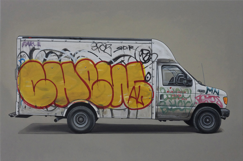 Kevin  Cyr -  <strong>Hester</strong> (2013<strong style = 'color:#635a27'></strong>)<bR /> oil on panel,   20 x 30 inches  (50.8 x 76.2 cm)