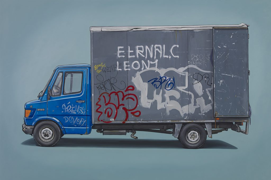 Kevin  Cyr -  <strong>Renards</strong> (2014<strong style = 'color:#635a27'></strong>)<bR /> oil on panel,   20 x 30 inches  (50.8 x 76.2 cm)