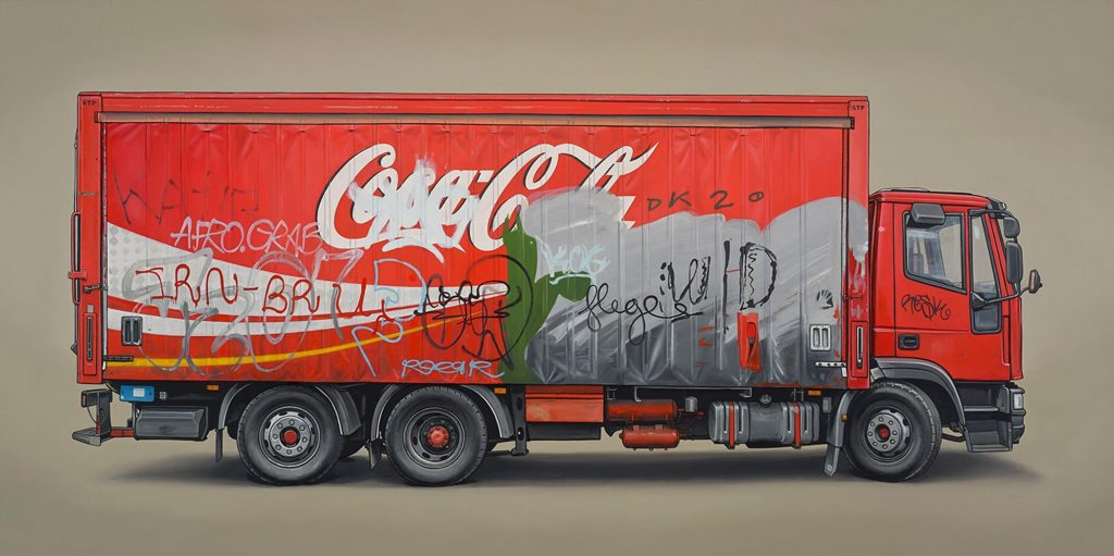 Kevin  Cyr -  <strong>Skalitzer</strong> (2013<strong style = 'color:#635a27'></strong>)<bR /> oil on panel,   24 x 48 inches  (60.96 x 121.92 cm)
