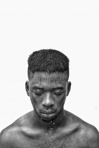 Arinze Stanley -  <strong>Soulful Conversations</strong> (2017<strong style = 'color:#635a27'></strong>)<bR /> giclee print of photograph,  45 x 35 inches
